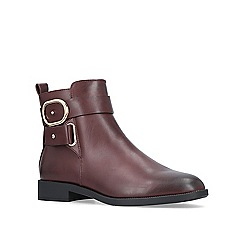 Miss KG - Wine 'Trinny' ankle boots