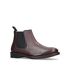 KG Kurt Geiger - Brown 'Perth' chelsea boots