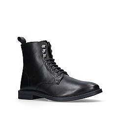 KG Kurt Geiger - Black 'pudsey' lace up boots