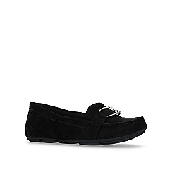 Anne Klein - Black 'petra' flat slip on loafers