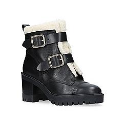 Nine West - 'Ingramm' high heel biker boots
