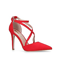 Miss KG - Red 'Shelby' high heel court shoes