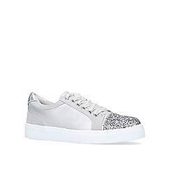 Miss KG - Grey 'Louie' low top trainers