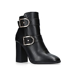 Miss KG - Black 'spring' high heel ankle boots