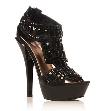 Black Hamilton high heel shoes