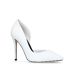 Miss KG - White 'Alexandra' court shoes