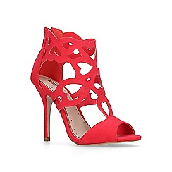Miss KG - Red 'Florence' sandals