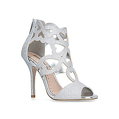 Miss KG - Silver 'Florence' sandals