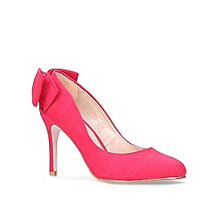 Miss KG - Pink 'Coral' court shoes