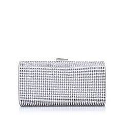 Miss KG - Silver 'Twinkle2' clutch bag