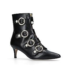 Carvela - Black 'Sparky' mid heel ankle boots