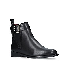 KG Kurt Geiger - Black 'Rusty' low heel chelsea boots