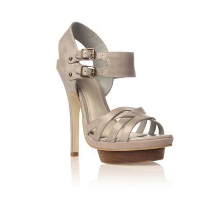 Khaki Kinetic High Heel shoes