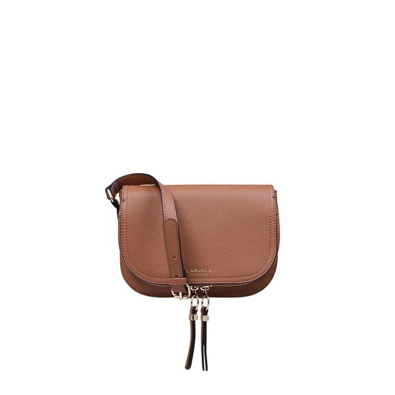 Carvela Soula Saddle zip cross body bag