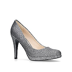 Nine West - Pewter 'Wiseup' high heel court shoes