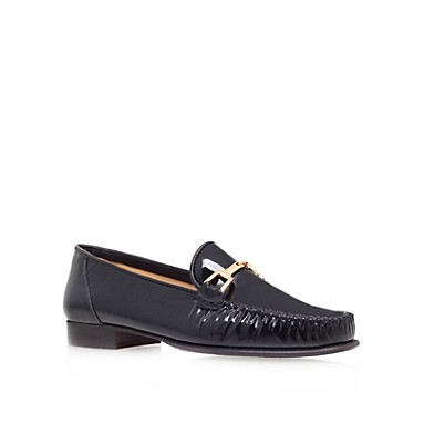 Black Mariner Flat Shoes