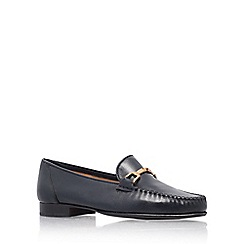 Carvela - Navy mariner flat shoes