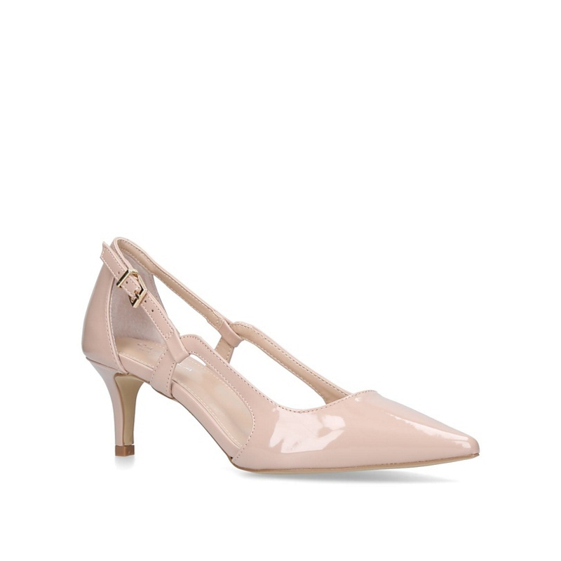 83fbe115ef4 Carvela - Nude  Kitten  Mid Heel Court Shoes - £19.00 - Bullring   Grand  Central