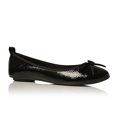 Black Lola 2 Flat shoes