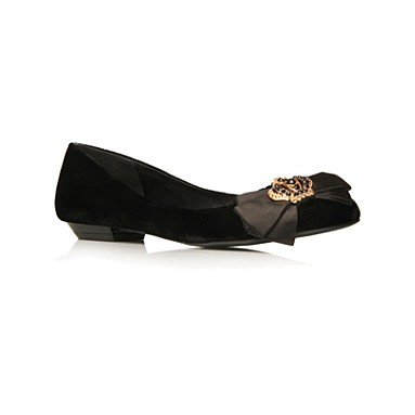 Black Lizzie Flat shoes