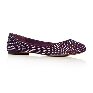 Purple Lenka Flat Shoes