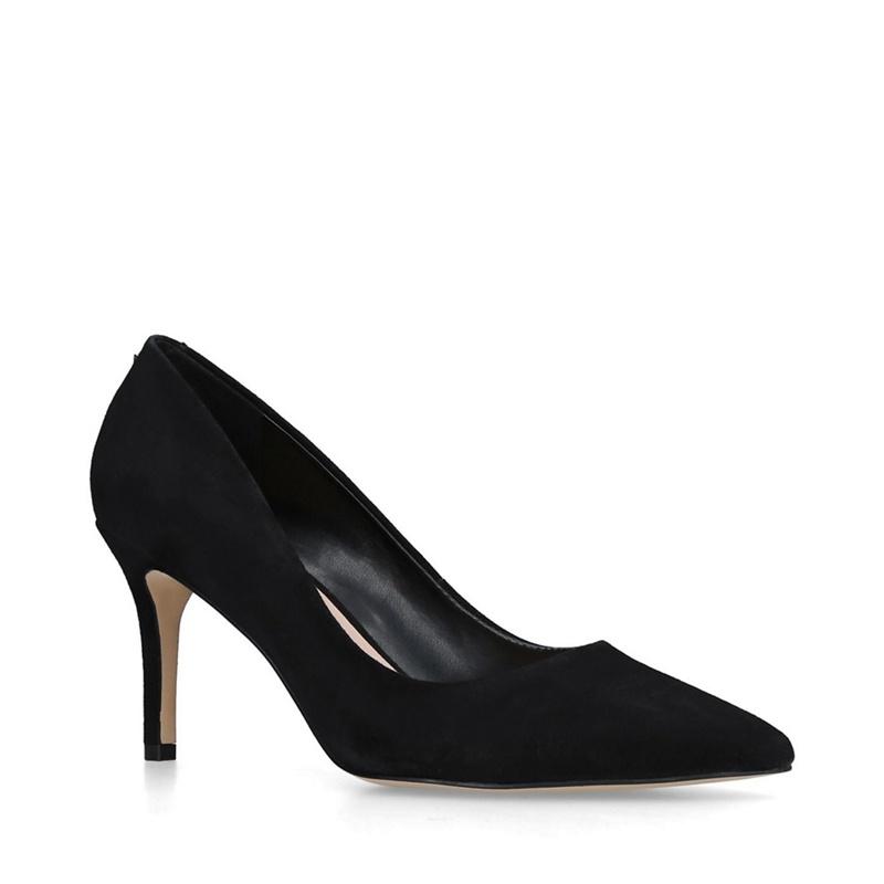 5c6942f0b99 ALDO - Black  Coroniti  Suede High Heel Court Shoes