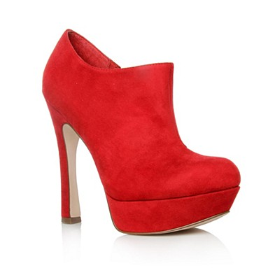 Red Adelia Ankle boots