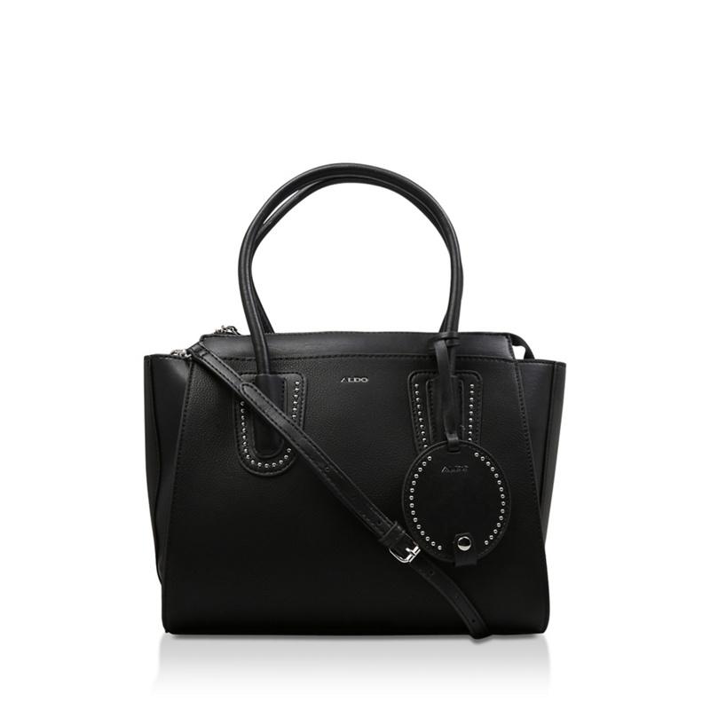 6791ec6f686 Aldo - Black  Miradode  Leather Handbag - Female First Shopping