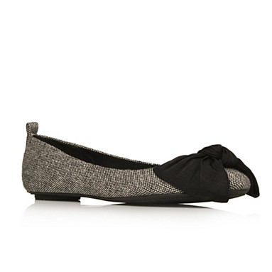 Grey Licorice Flat shoes