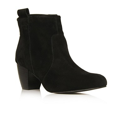 Black Faith Ankle boots