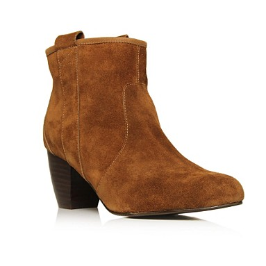 Tan Faith Ankle boots