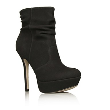 Black Fancy Ankle Boots