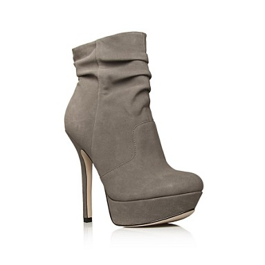 Grey Fancy Ankle boots