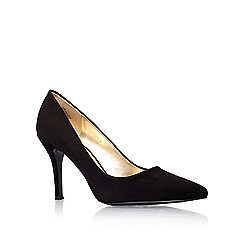 Nine West - Black ' Flax ' high heel courts