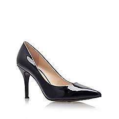 Nine West - Black ' Flax ' High Heel Court Shoes