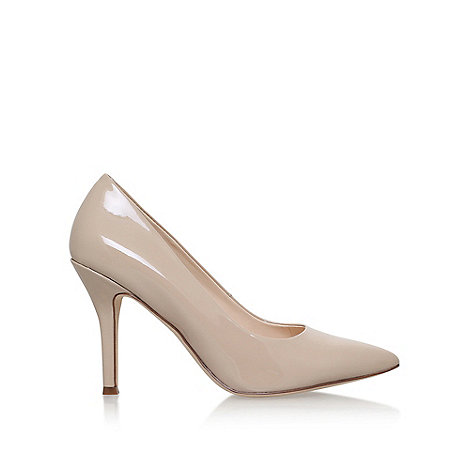 Nine West - Nude ' Flax ' High Heel Court Shoes