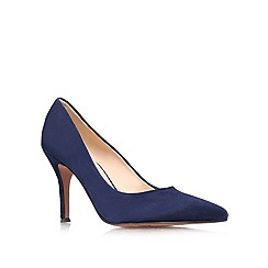 Nine West - Navy 'Flax' high heeled courts