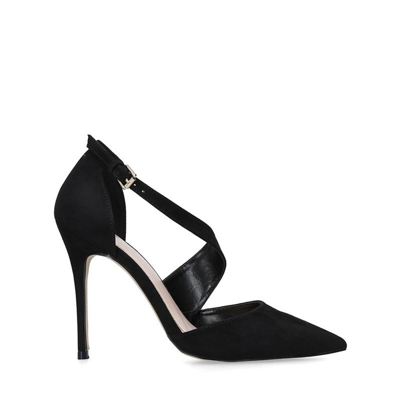 0148714af31 Womens Carvela Black 'Killer' suedette stiletto heel court shoes ...