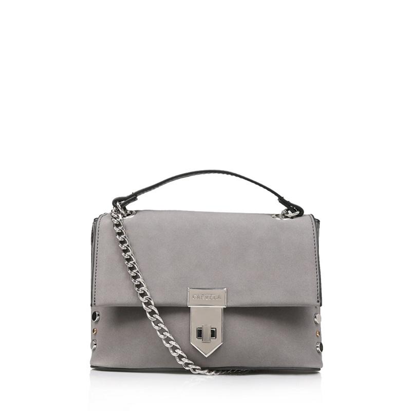 48c645315232 Carvela Grey 'Cherry Stud Xbody' shoulder bag, Women's | £39.00 | Port
