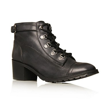Black Flint Ankle boots