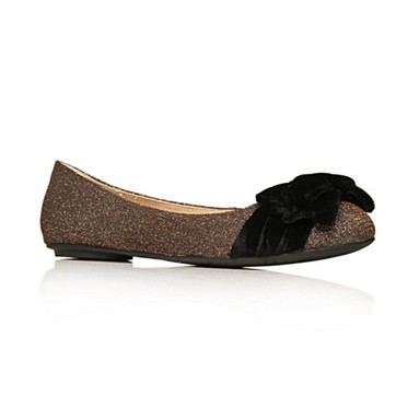 Metallic Lulu Flat Shoes