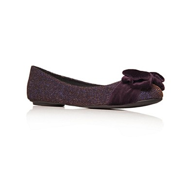 Purple Lulu Flat Shoes