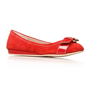 Red Lohan Flat shoes