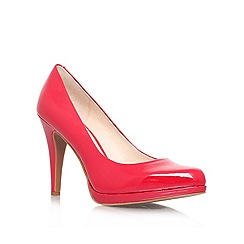 Nine West - Red 'ROCHA3' High heeled court shoe