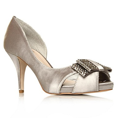 Silver Haversham High heel shoes