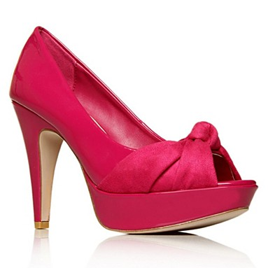 Pink Bardot High heel shoes
