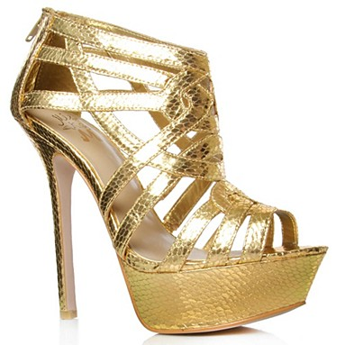 Gold Harvey High heel shoes