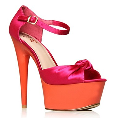 Pink Roxy High heel shoes