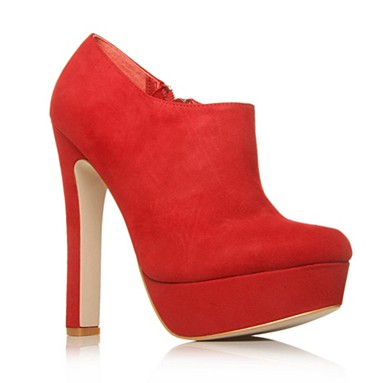 Red Emily Ankle boots