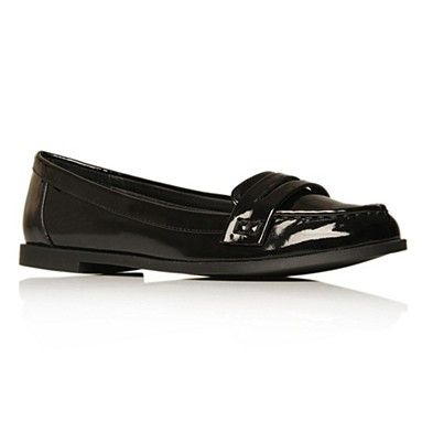Black Larry Flat shoes